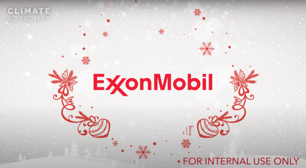 BREAKING: Shocking leaked internal Exxon Mobil holiday video