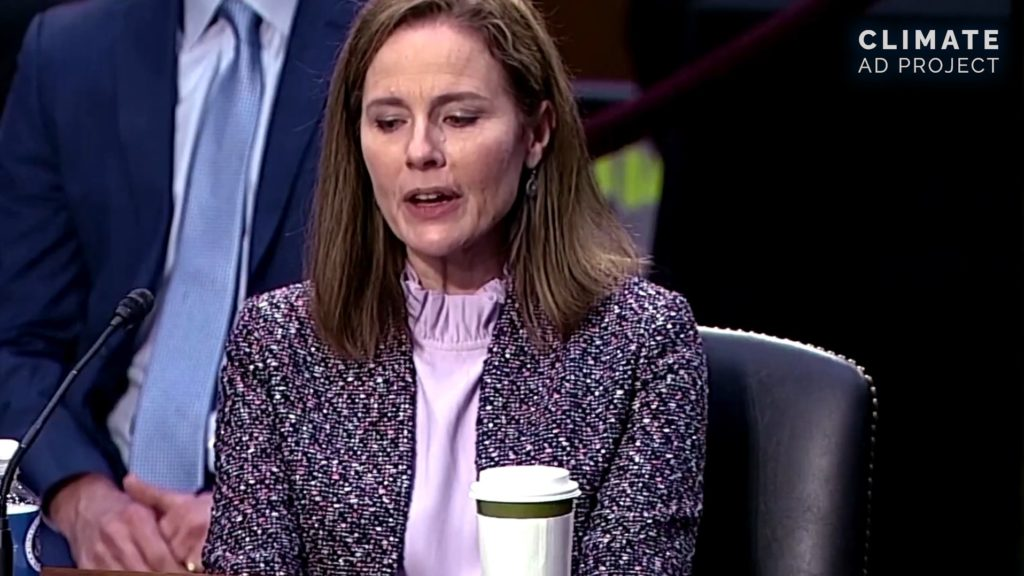 Climate Blast: Amy Coney Barrett is a Shell of a Justice